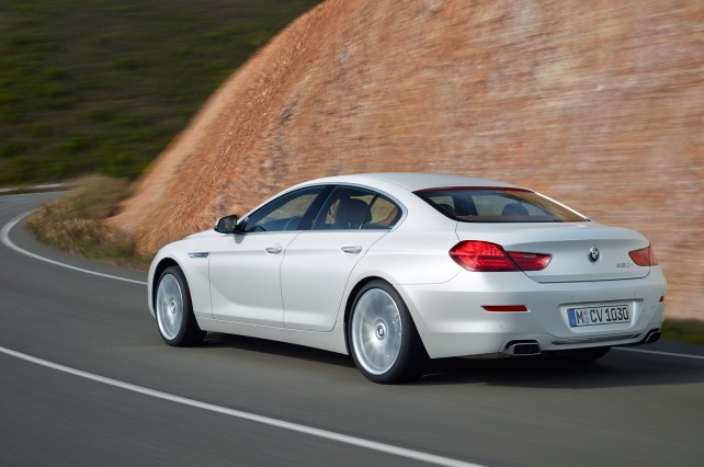 2016 Bmw 6 Series Gran Coupe #8