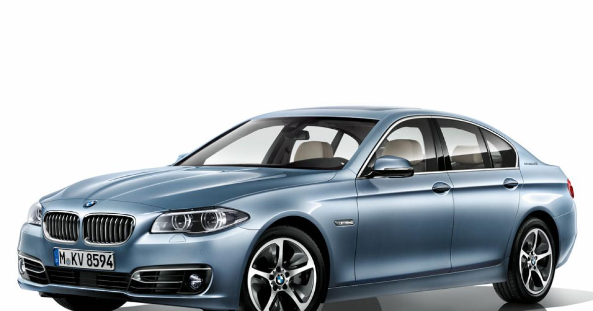 2016 Bmw Activehybrid 5 #9