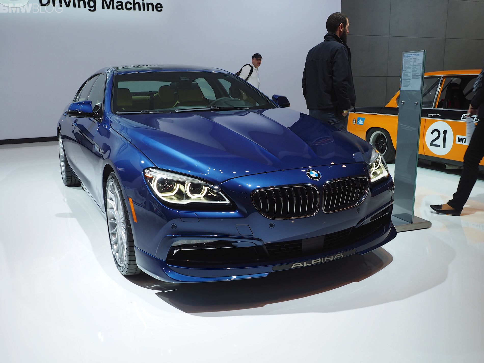 2016 Bmw Alpina B6 Gran Coupe 4