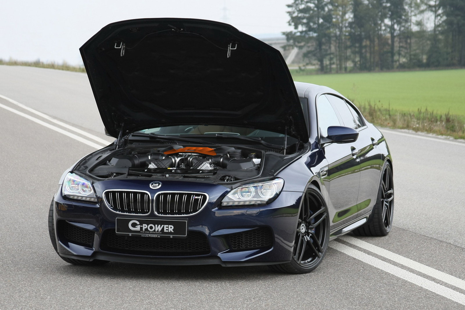 2016 Bmw M6 Gran Coupe #7