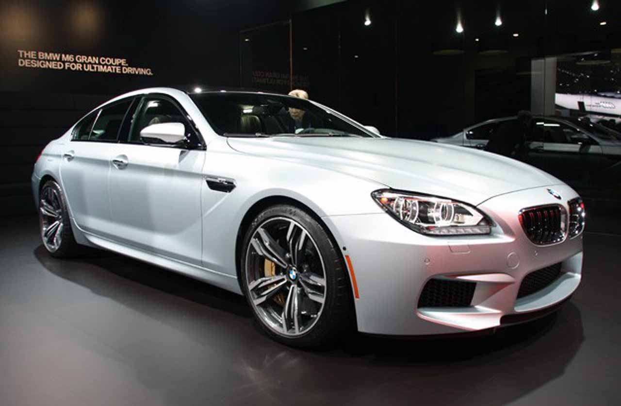 2016 Bmw M6 Gran Coupe #12