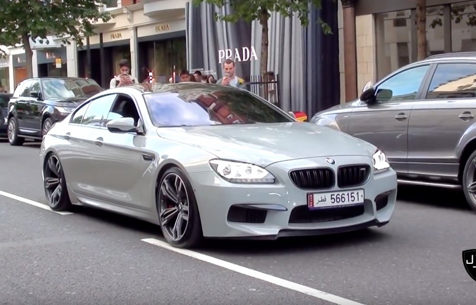 2016 Bmw M6 Gran Coupe #14
