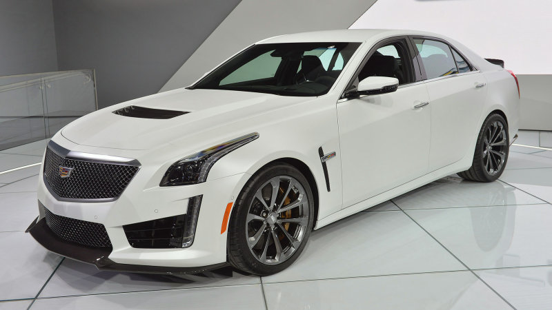 2016 Cadillac Cts V Photos Informations Articles Bestcarmag Com