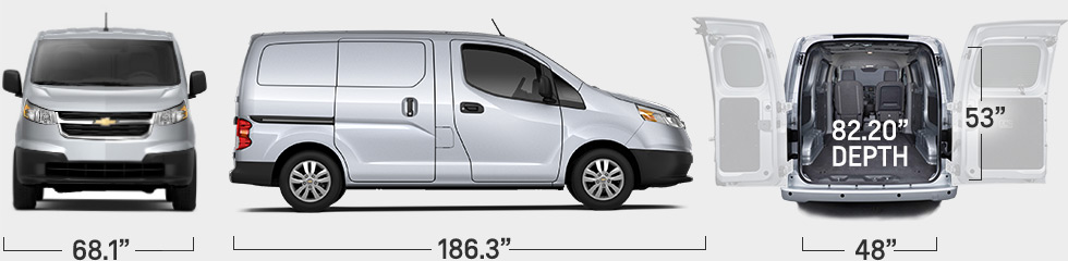 2016 Chevrolet City Express #3