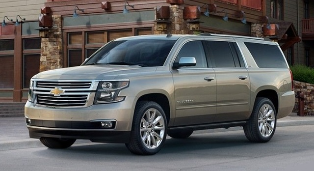2016 chevrolet suburban photos informations articles. Black Bedroom Furniture Sets. Home Design Ideas