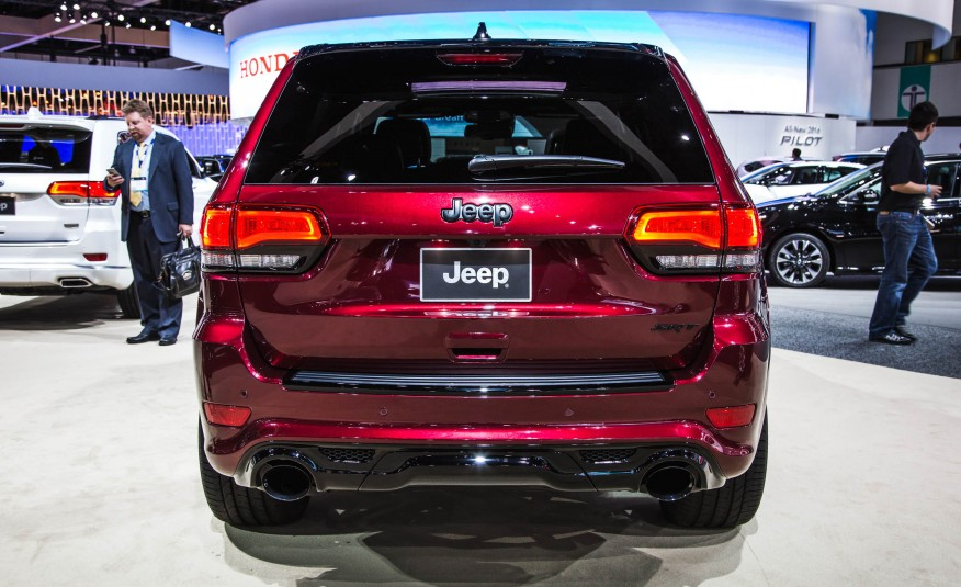 2016 Jeep Grand Cherokee Srt #4