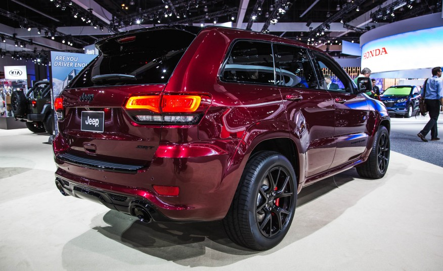 2016 Jeep Grand Cherokee Srt #5