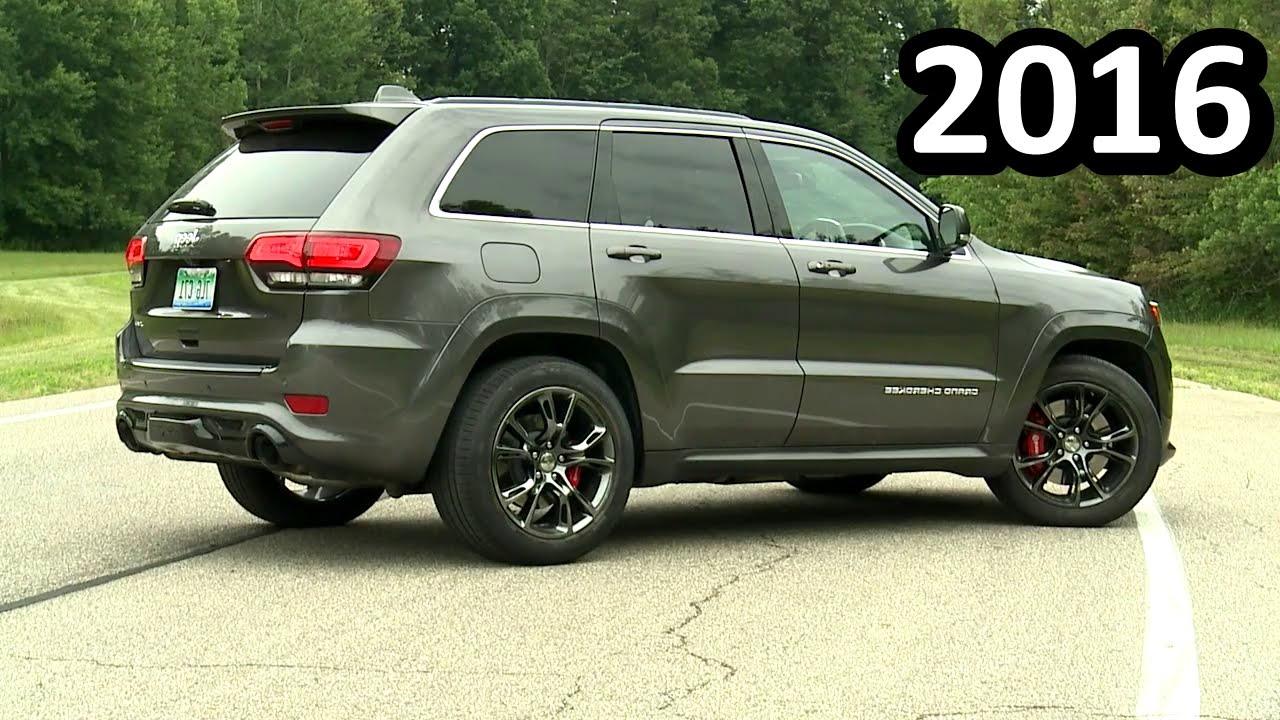2016 Jeep Grand Cherokee Srt #9
