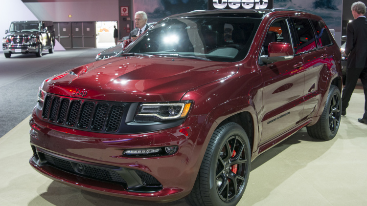 2016 Jeep Grand Cherokee Srt #7