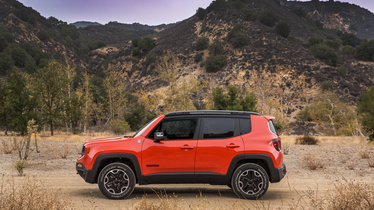 2016 Jeep Renegade #10