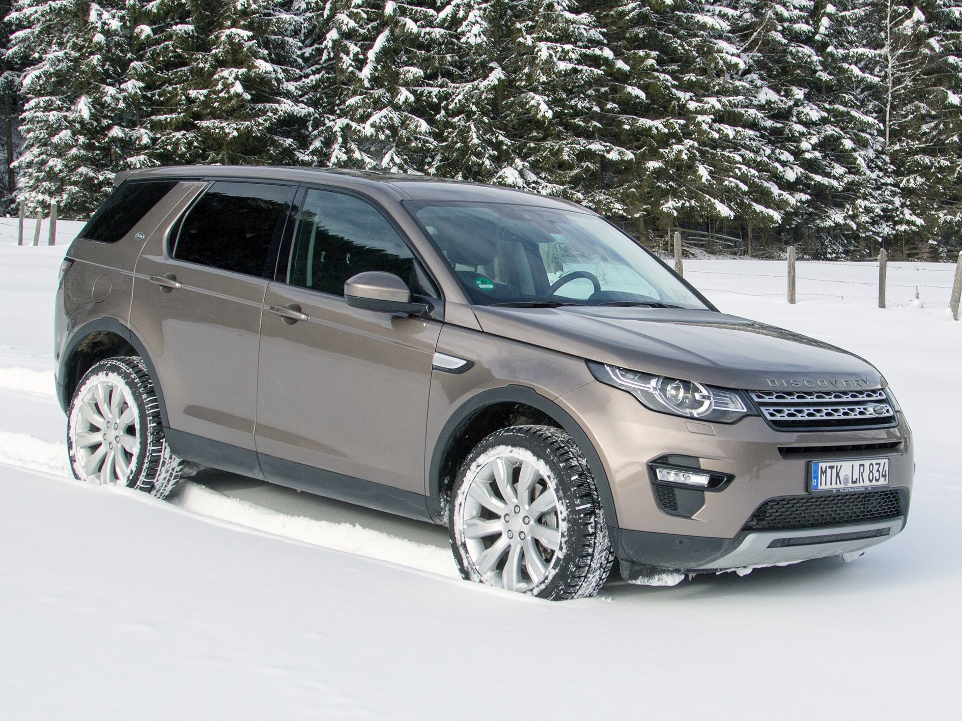 2016 Land Rover Discovery Sport #8