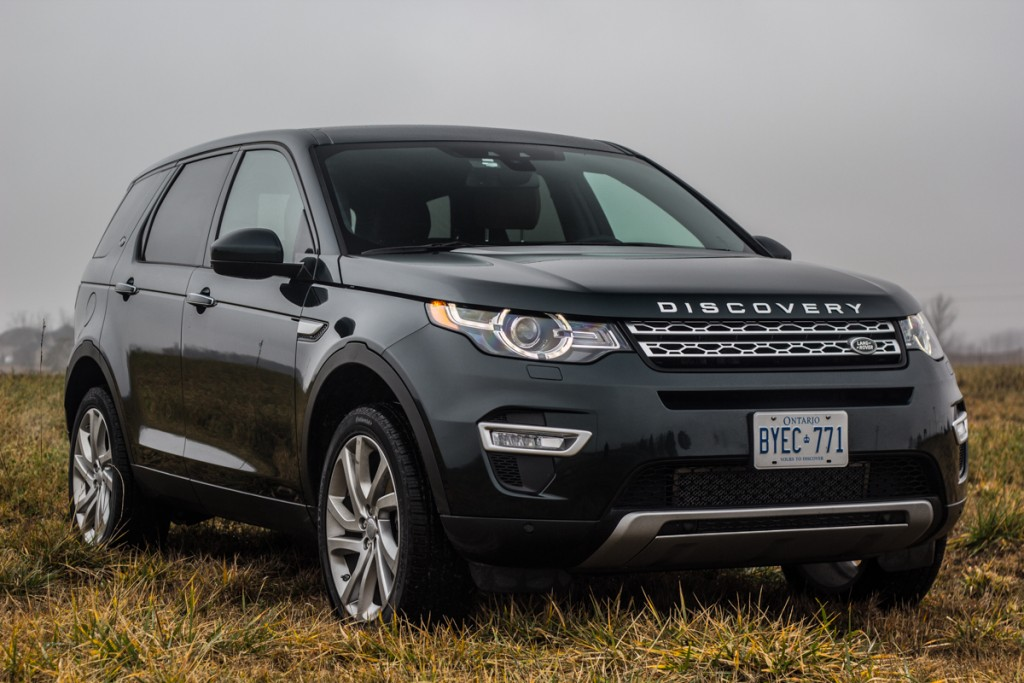 2016 Land Rover Discovery Sport #12
