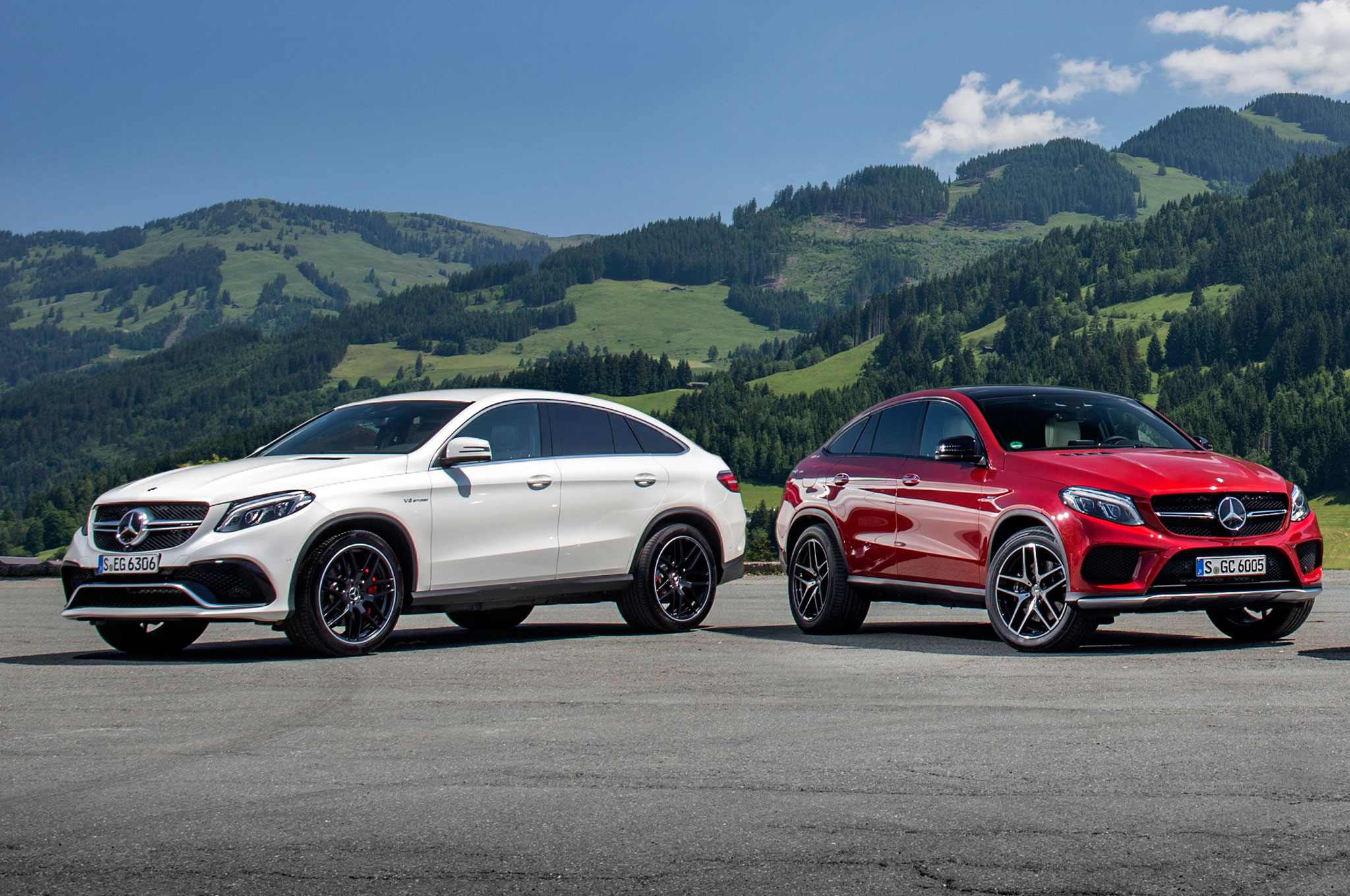 2016 mercedes benz gle class coupe photos informations. Black Bedroom Furniture Sets. Home Design Ideas