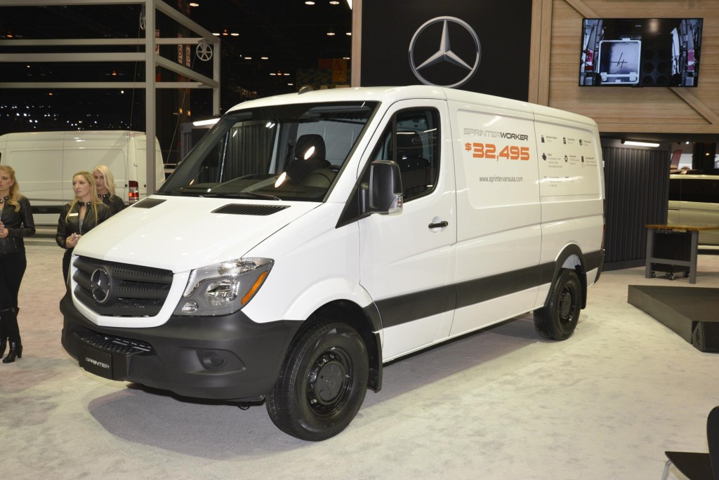 2016 Mercedes-benz Sprinter Worker #8
