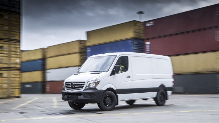 2016 Mercedes-benz Sprinter Worker #5
