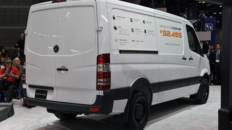 2016 Mercedes-benz Sprinter Worker #11