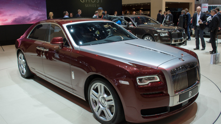 2016 Rolls Royce Ghost Series Ii #11