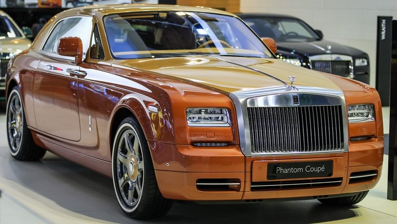2016 Rolls Royce Phantom Coupe #5