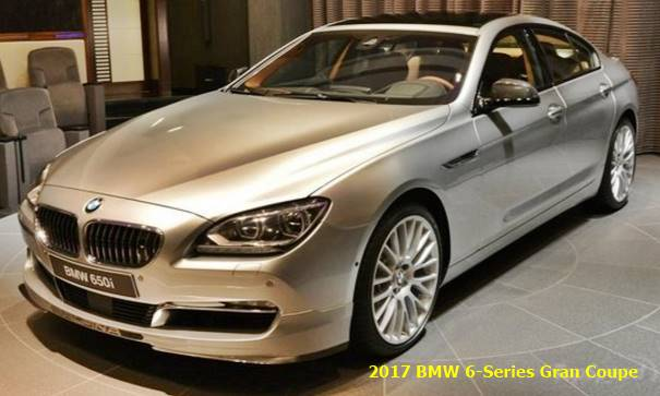 2017 Bmw 6 Series Gran Coupe Photos Informations Articles