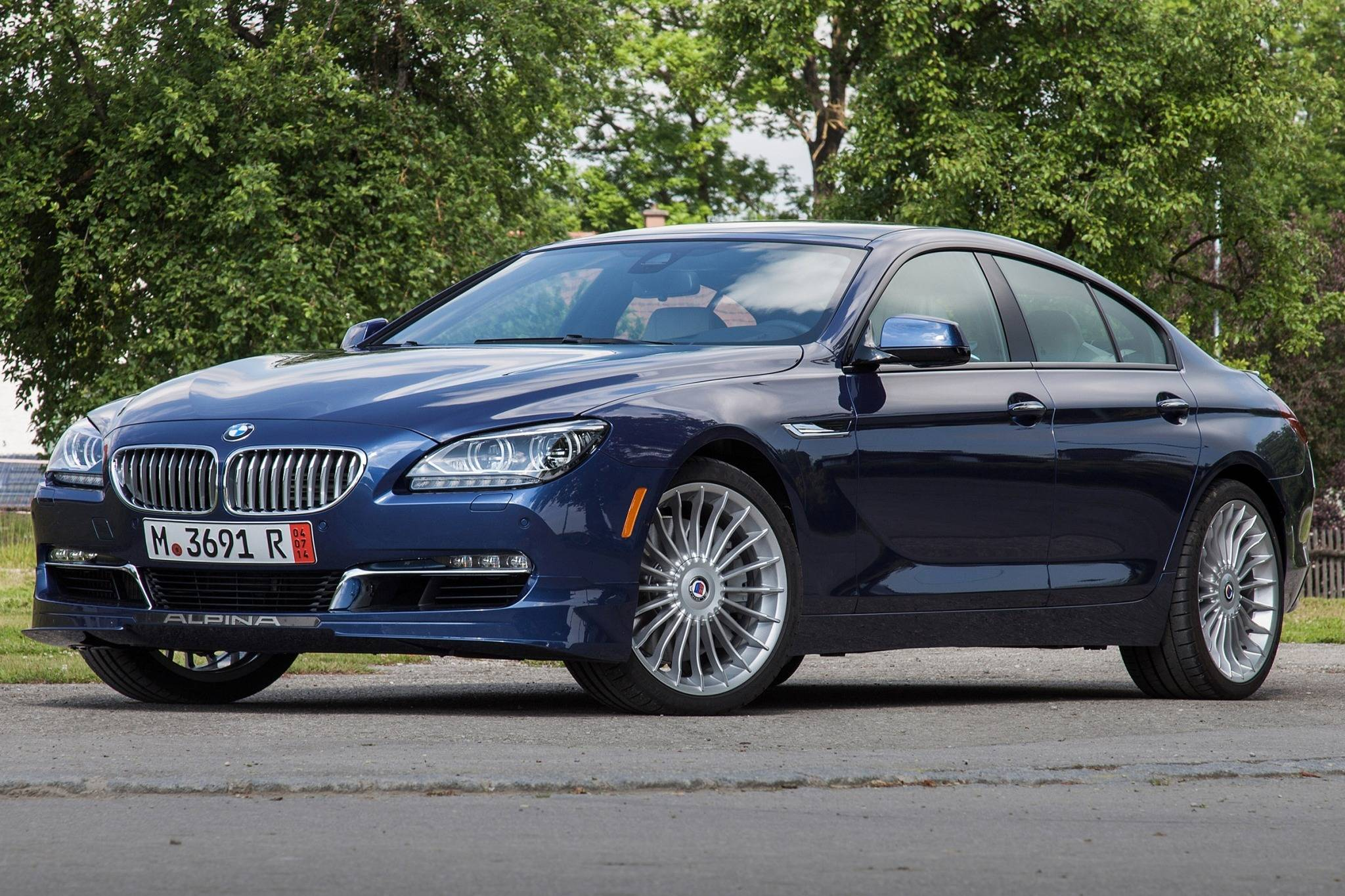 2017 Bmw Alpina B6 Gran Coupe #5