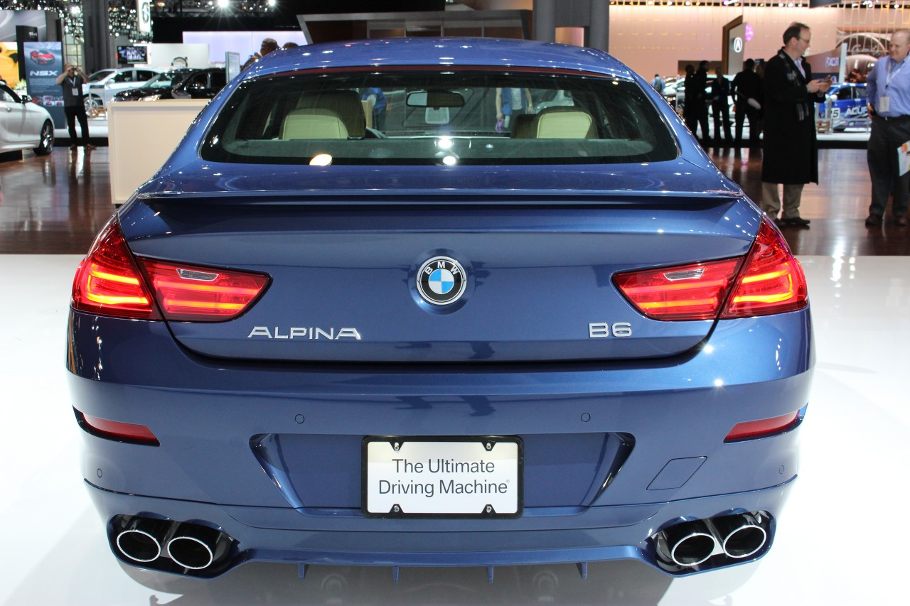 2017 Bmw Alpina B6 Gran Coupe #8