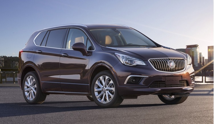 2017 Buick Envision #10