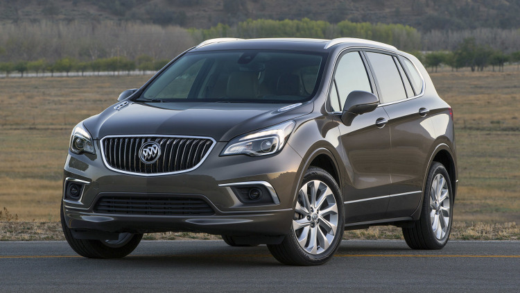 2017 Buick Envision #5