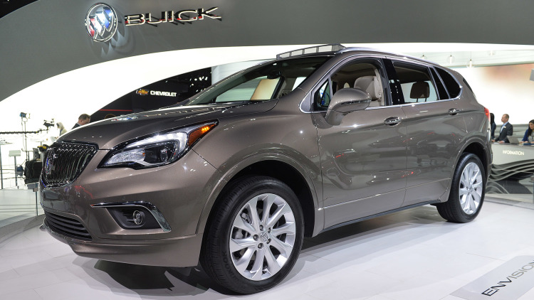 2017 Buick Envision #14