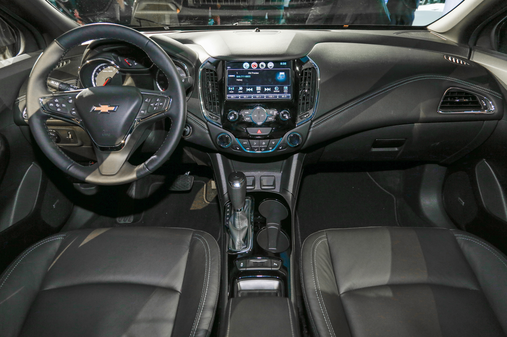 2017 Chevy Cruze Lt Interior