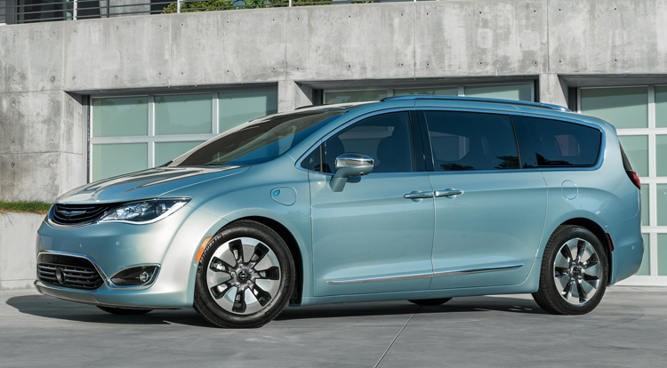 2017 Chrysler Pacifica Photos Informations Articles Bestcarmag