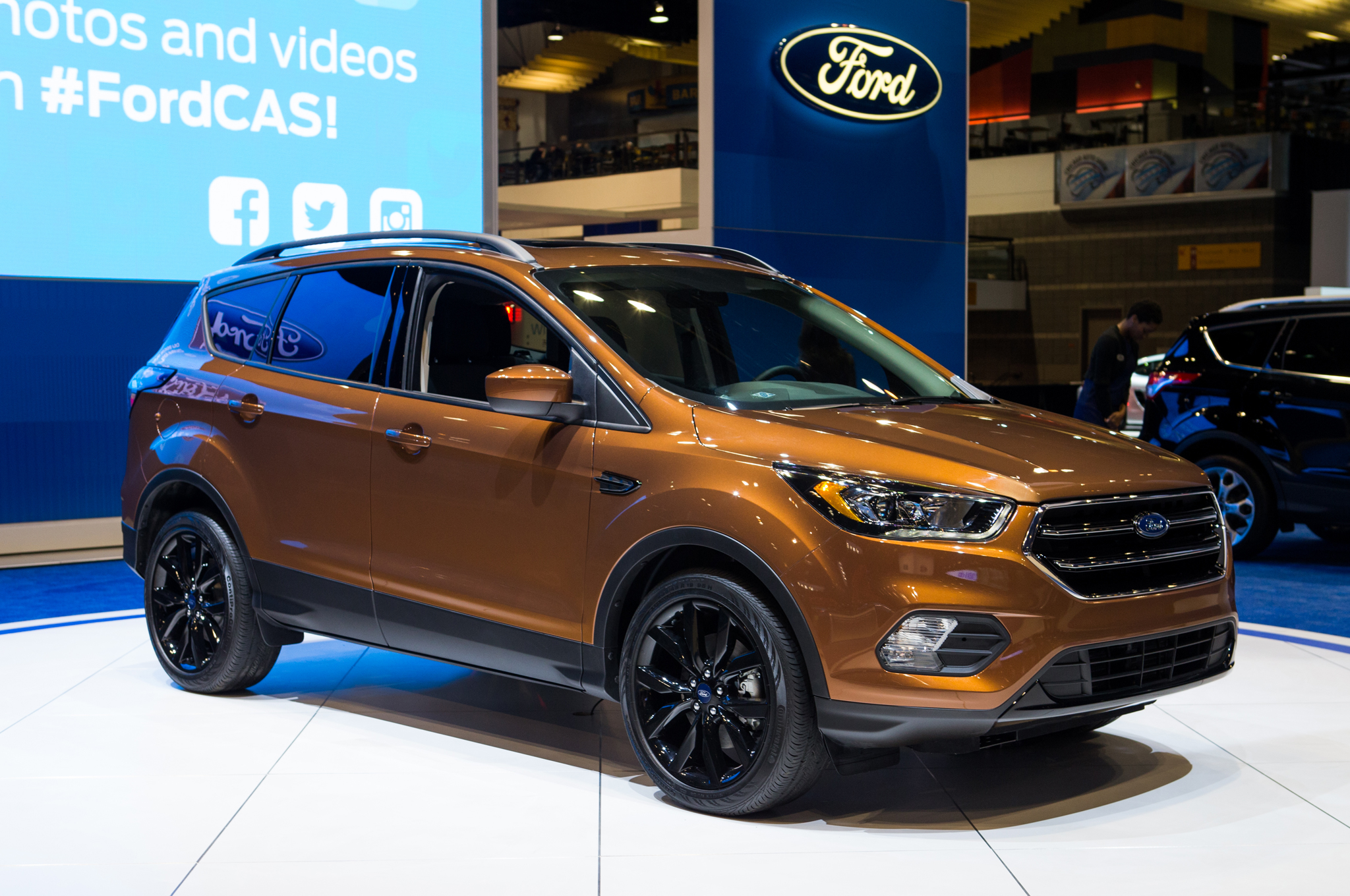 2017 Ford Escape Photos Informations Articles Bestcarmag