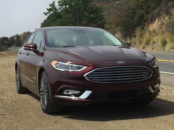 2017 Ford Fusion #12