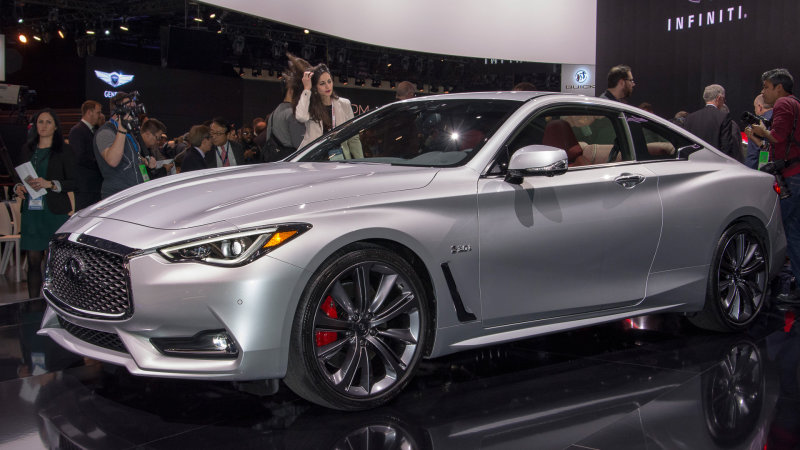2017 Infiniti Q60 Coupe Photos Informations Articles