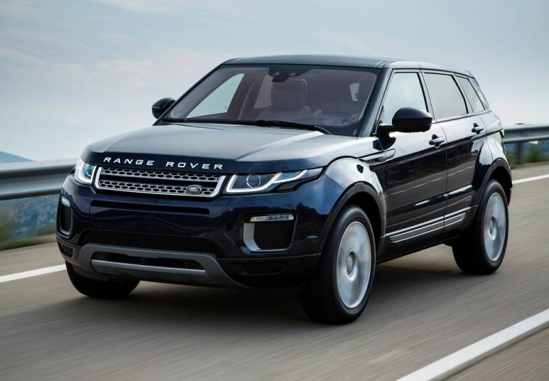 2017 Land Rover Range Rover Evoque Photos Informations Articles