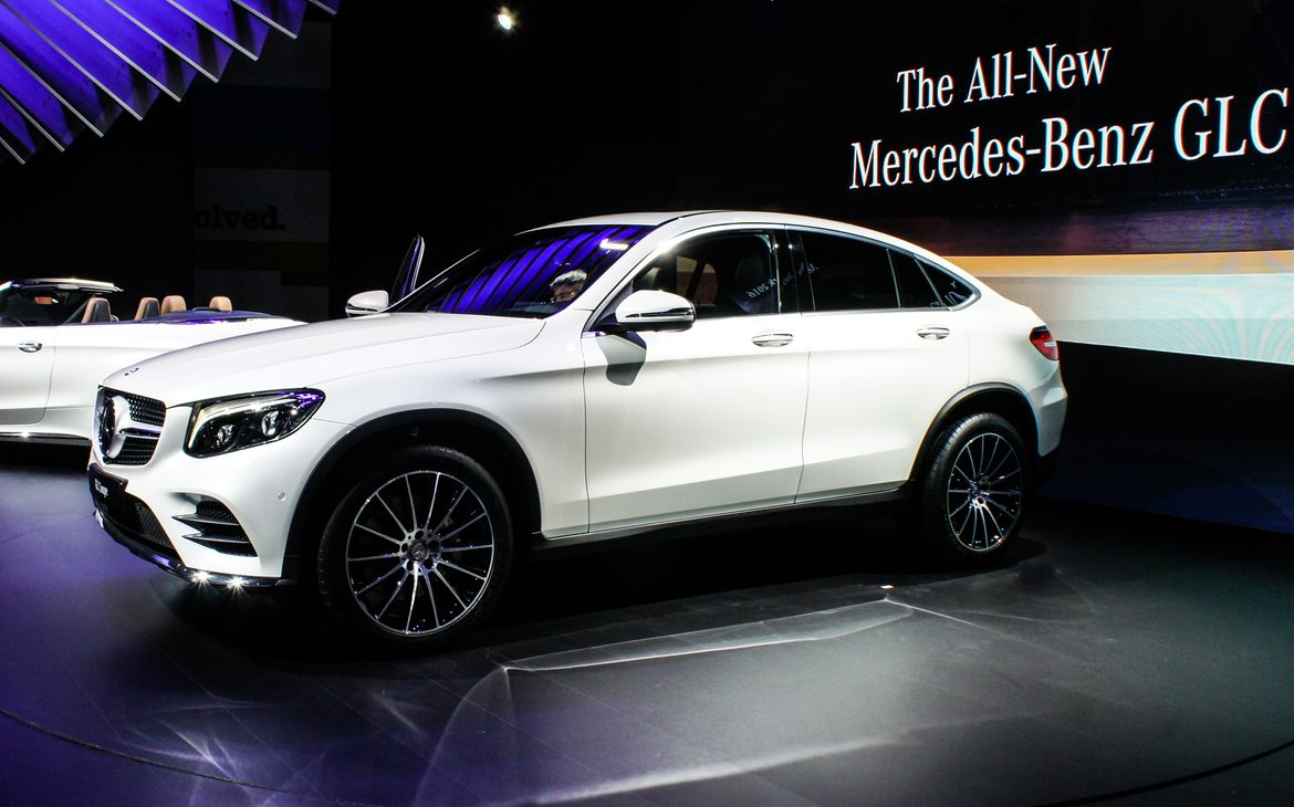 2017 mercedes benz glc class coupe photos informations