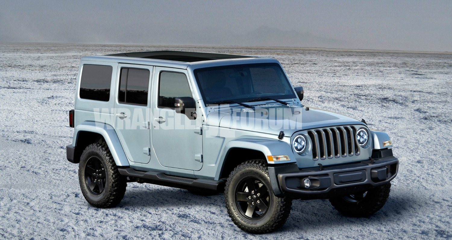 Jeep Wrangler 2018 Blue >> 2018 Jeep Wrangler Photos, Informations, Articles - BestCarMag.com