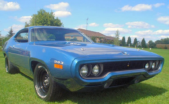 1971 Plymouth Road Runner #12