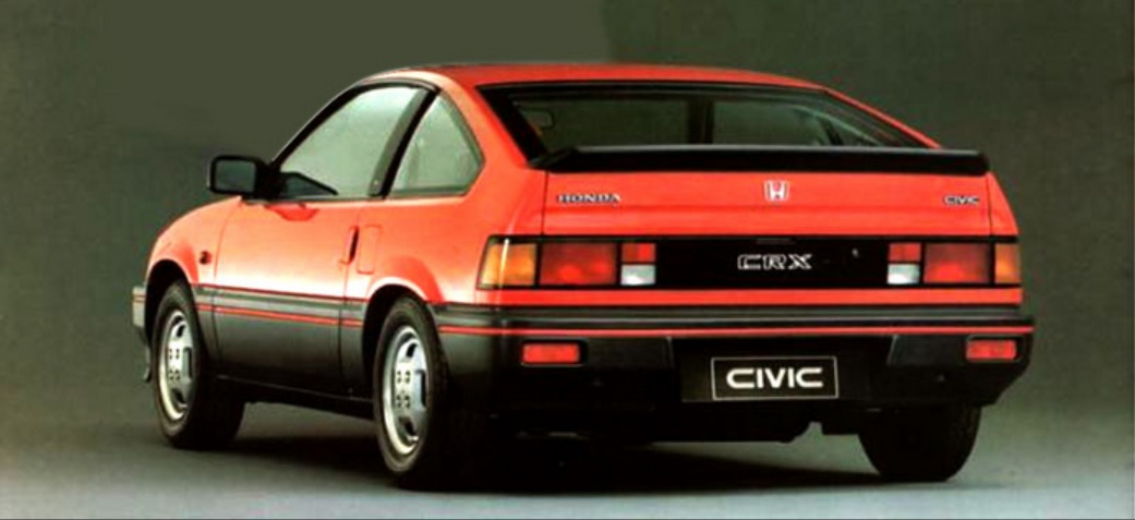 Honda Civic Crx #10