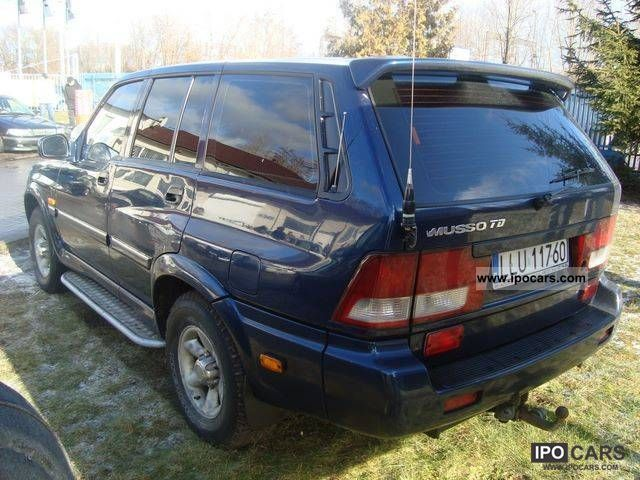 2001 Ssangyong Musso #13