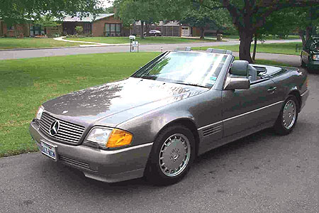 1991 Mercedes-Benz SL #11