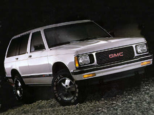 1992 GMC Jimmy #8
