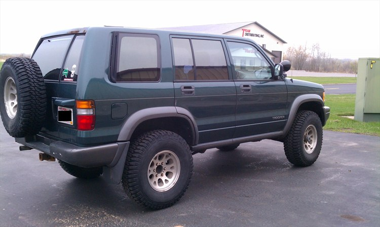 1996 Isuzu Trooper #3