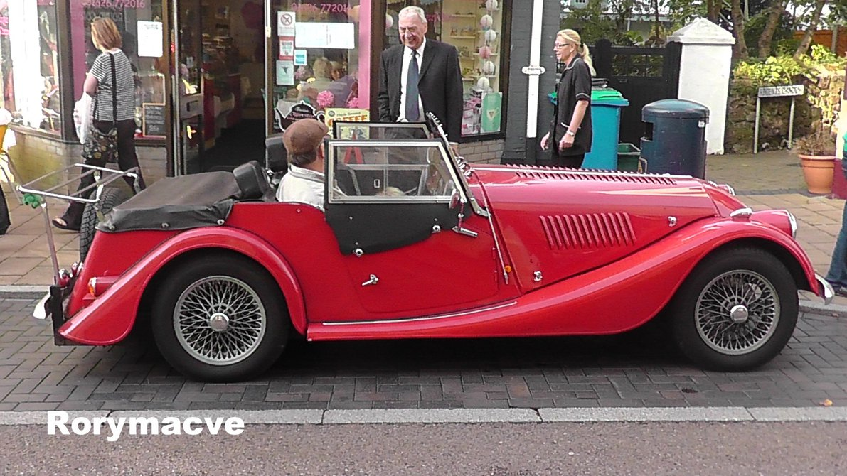 1990 Morgan Plus 4 #9