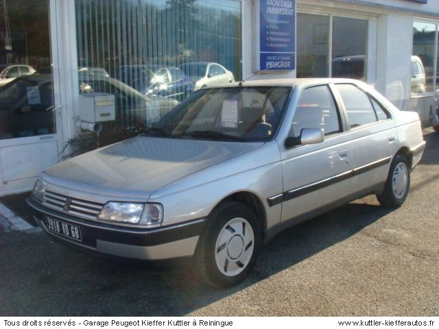 1992 peugeot 405 photos informations articles