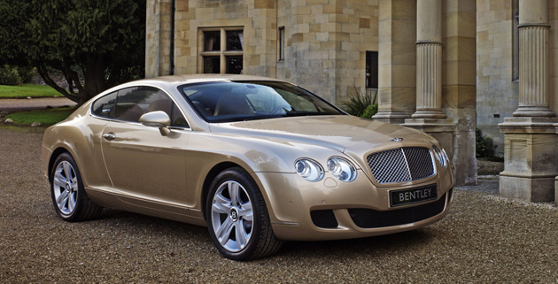 2009 Bentley Continental Gt #10