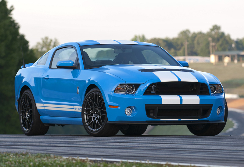 2012 Ford Shelby Gt500 #3
