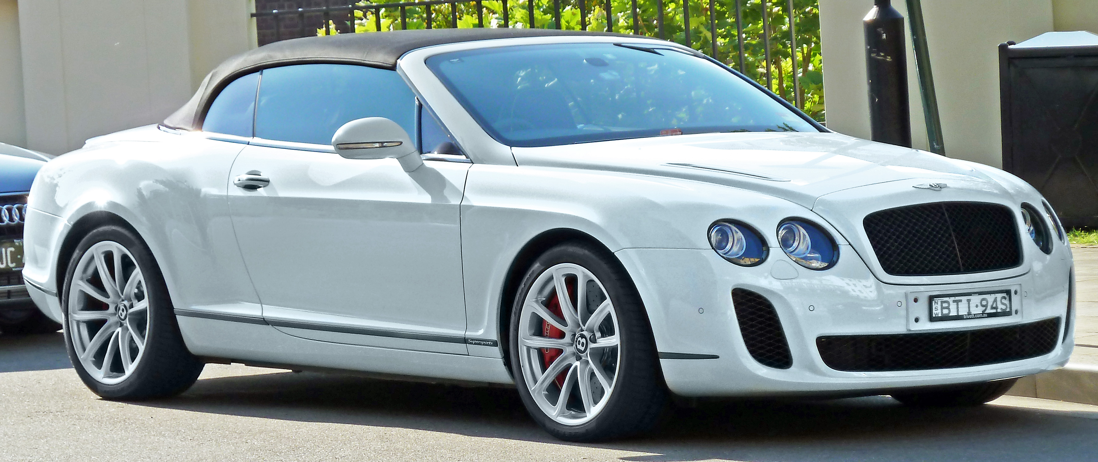 2011 Bentley Continental Supersports Convertible #4