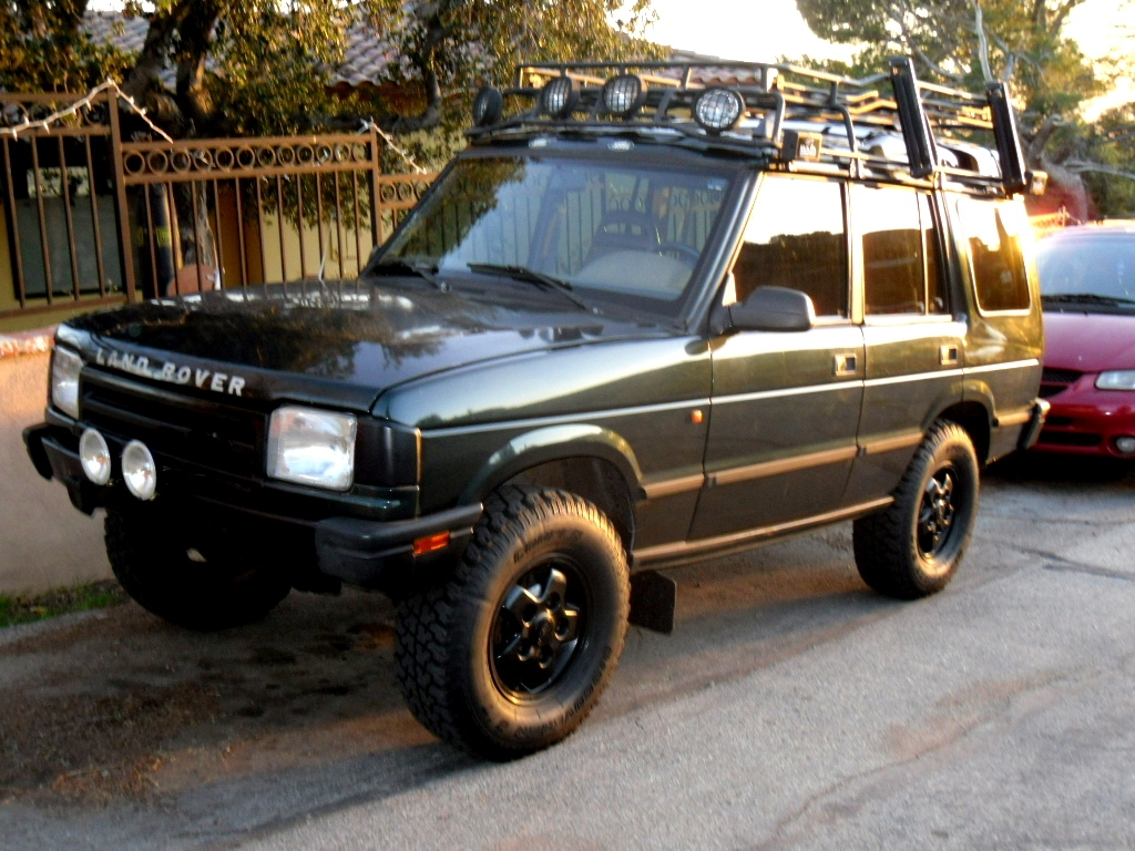 1995 Land Rover Discovery #6