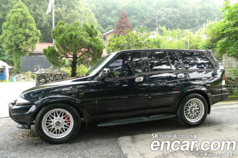 1997 Ssangyong Musso #5