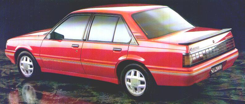 1988 Holden Camira Photos Informations Articles